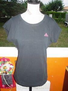 Sur Shirt T Rose Adidas Taille Noir Femme Détails 42 OkXwNP8n0Z