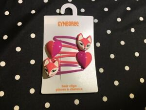 Gymboree Candy Shoppe Ponytail Barrettes Bows Pom NEW