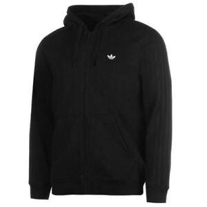 Das Bild wird geladen Herren-Neu-Adidas-Originals-Hoodie-Zip-Hoody- Kapuzenpullover- 69dce1ef4c