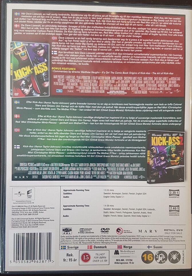 Kick Ass 1-2 Box, DVD, action
