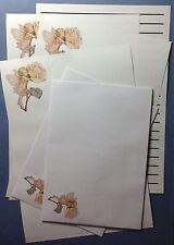Little Summer Rose Fairy Letter writing stationery paper set & envelopes