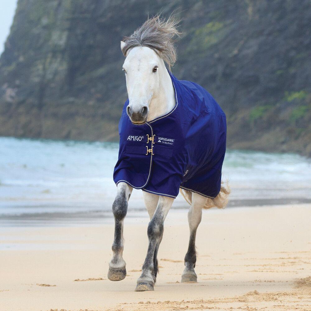 Horseware Amigo Hero ACY Turnout  200g Medium - Atlantic bluee