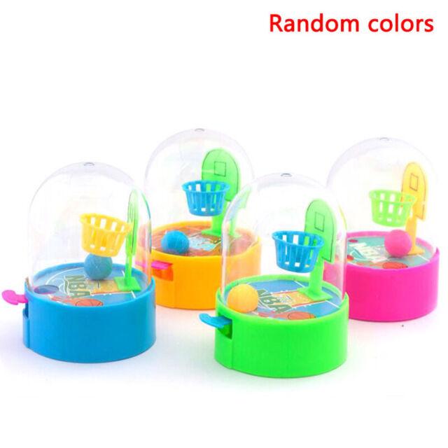 Mini Basketball Ball Shooting Desk Toys Finger Desktop Games Kids Traini-
