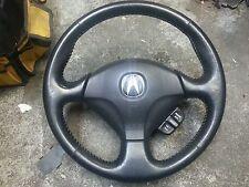 02-06 Acura RSX leather stitched steering wheel,EM2,EP3,DC5,ES1,ES2,ek9,ap1,eg6