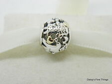 NEW! AUTHENTIC PANDORA CHARM 2-TONE FAMILY FOREVER #791040  HINGED GIFT BOX