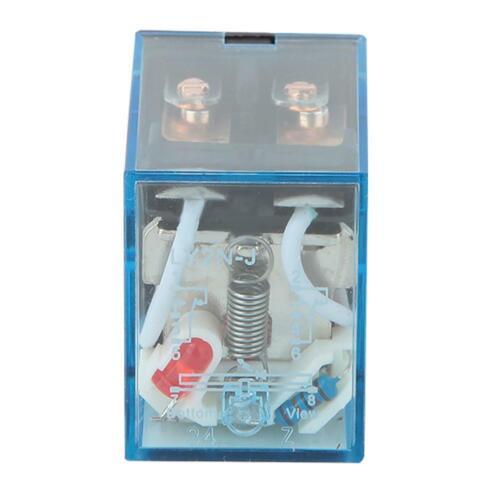 10pcs 5A 12//24//220V DC//AC Coil Power Relay LY2N-J 8 Pin DPDT Coil Relay