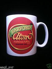 Barford Atom Vintage Garden Tractor Themed Gift Mug Plough
