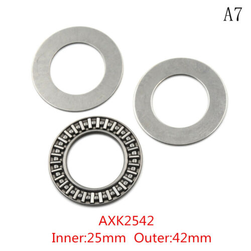 AXK2542 Thrust Needle Roller Bearing With Two Washers PVCA AXK0821