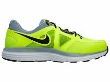 Nike Dual Fusion Lite 2 MSL Mens 642821-701 Volt Grey Running Shoes Size 8.5