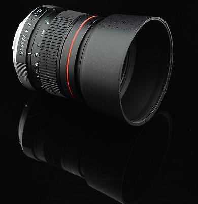 85mm HD Portrait Lens for Nikon D90 D70 D610 D7100 D5300 D5200 D3300 D3200