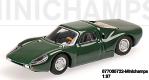 Minichamps-877065722-Porsche-904-GTS-1964-Verde-L-E-300-Pzs-1-87