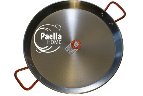 ORIGINAL SPANISH PAELLA GIFT 26cm PAELLA PAN PROFESSIONAL POLISHED CARBON STEEL