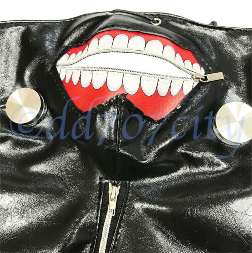 Tokyo Ghoul Kaneki Ken Adjustable Mask Japanese Anime Cosplay Costume Xmas Gift