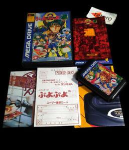 PUYO-PUYO-2-Sega-MEGADRIVE-Mega-Drive-Genesis-JAP-Complete