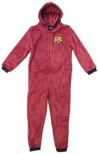 La imagen se está cargando Ninos-Oficial-Barcelona -Fcb-Capucha-Polar-Cremallera-Pijama- 6d8e34b1dd6