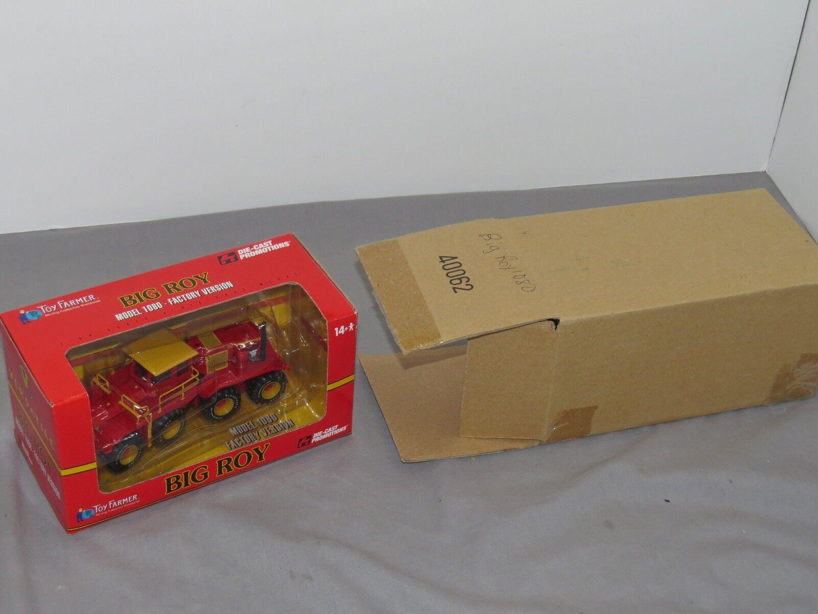RARE! 1/64 Versatile Big Roy 1080 Tractor Factory Version DCP NIB Shipping box