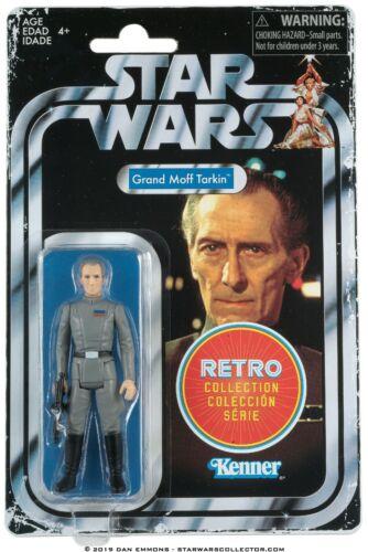 Hasbro® STAR WARS™ GRAND MOFF TARKIN KENNER RETRO COLLECTION MINT
