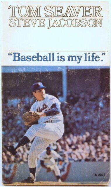 TOM SEAVER Baseball is my life STEVE JACOBSEN (Paperback, 1973, First Printing)