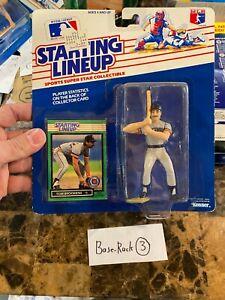 1989 ROOKIE STARTING LINEUP - SLU - MLB - tom brookens