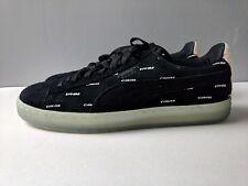 4911ba068a02 Brand New Puma Men Suede V2 Pink Dolphin Black Caramel Size 9.5 Shoe Sneaker