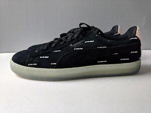 5b9d67b1eaa1 Brand New Puma Men Suede V2 Pink Dolphin Black Caramel Size 9.5 Shoe ...