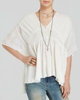 Free People Kaftan - World Sunny In Ivory