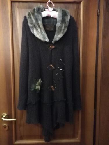 giacca Misto Donna Nuovo  42 T Cappotto Prezzo Mohair Super 44 marilù Lunga gxwaId