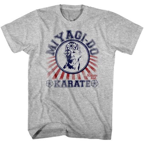 Karate Kid Miyagi-Do Dojo Mens T Shirt School Rising Sun Cobra Kai Fighter Zabka