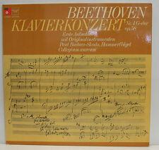 "BEETHOVEN KLAVIERKONZERT NR. 4 PAUL BADURA-SKODA COLLEGIUM AUREUM 12"" LP (e680)"