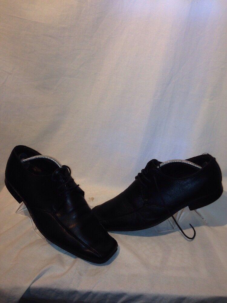Kurt Geiger Mens 43.5 Work Leather Black Shoes Eur 43.5 Mens Ref Ju01 efb6e3