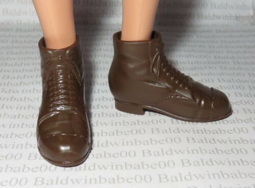 KEN SHOES ~ MODEL MUSE DOLL BROWN JACK THE LAMPLIGHTER MARY POPPINS ANKLE BOOTS