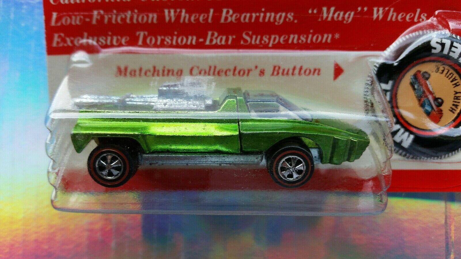 servicio honesto Blister de 1971    rojoline     peludas Hauler BP Hot Wheels  Original  raros  Coleccionable  muy difícil de encontrar  precios mas bajos
