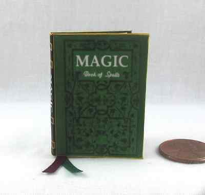 Clearance: MAGIC BOOK OF SPELLS 1:6 Scale Illustrated Spell Book Miniature Book