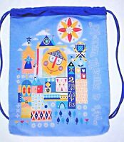 Disney World It's a Small World Drawstring Bag, NEW