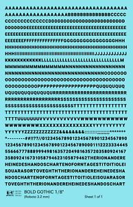 K4-HO-Decals-Black-1-8-Inch-Bold-Gothic-Letter-Number-Alphabet-Set