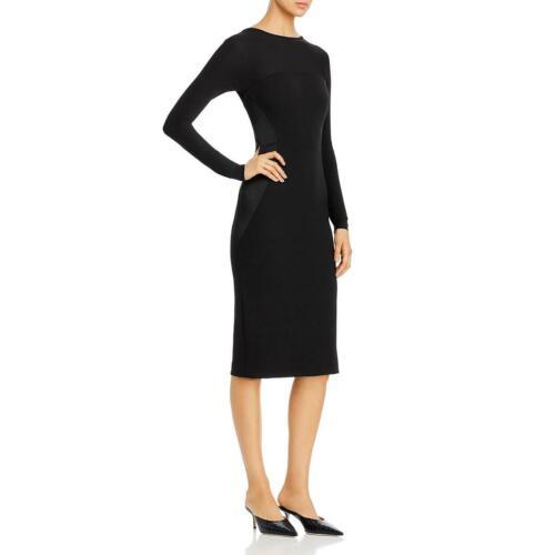 Donna Karan Womens Scoop Back Cocktail Party Sheath Dress BHFO 2965