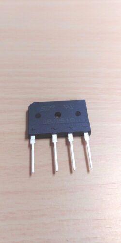 25A 1000V AC di tensione ponte raddrizzatore a diodi GBJ2510