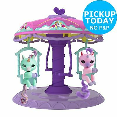 Fingerlings Playset with 2 Fingerlings Unicorns