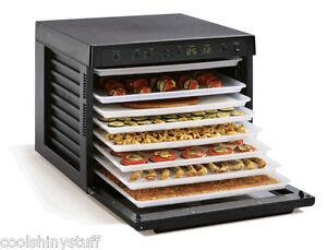 Tribest-Sedona-9-Tray-Digital-Food-Dehydrator-SD-P9000-B-600W-Timer-BPA-Free