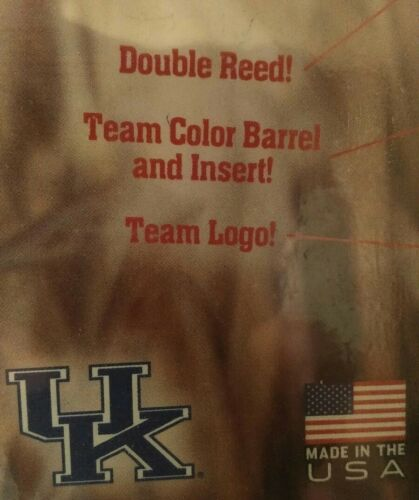 Y/'ALL Duck CALL UK University of Kentucky Double Reed Brett Farve Hand Turned