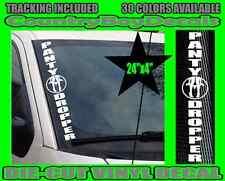 Panty Dropper VERTICAL Windshield Vinyl Decal Sticker Car Truck Hate Turbo GT