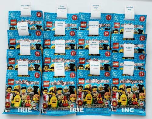 SEALED SERIES 17 Lego Minifigures FULL SET complete new gift toy corn fun