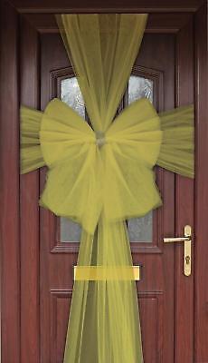 2019 úLtimo DiseñO Gold Eleganza Diamante Door Bow - Luxury Christmas Wreath Garland Decoration Forma Elegante
