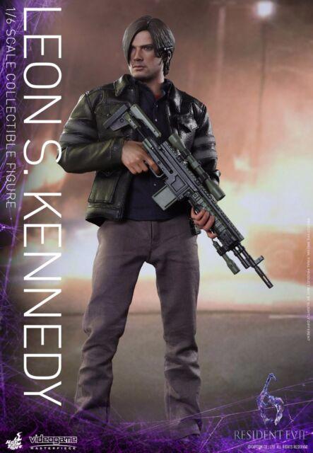 HOT TOYS Biohazard Resident Evil 6: Leon S. Kennedy 1/6 Figure IN STOCK