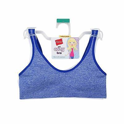 Hanes Girls ComfortFlex Seamless Bralette 2-Pack Bra