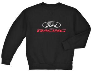 Ford Racing sweatshirt for men crewneck shirt mustang mopar gear decal gifts