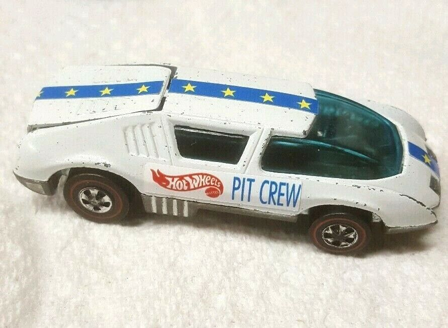 VINTAGE RED LINE 1970 HOT WHEELS CREW CAR