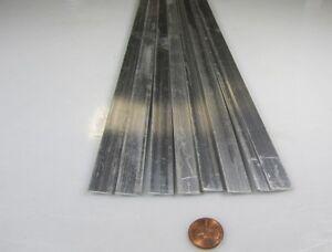 6061 T6 Metric Aluminum Bar 8mm Thick x 10mm Wide x 3 Ft Length 2 pcs