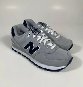 Details about NEW BALANCE 574 Pique Polo Pack Gray Navy Blue Shoes Men's Size 8 *NEW* ML574POY