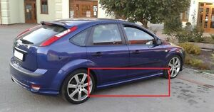 Image Is Loading FORD FOCUS 2 MK2 MKII SIDE SKIRTS NEW